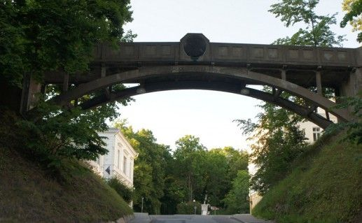 чертов мост Курадисильд в Тарту фотография