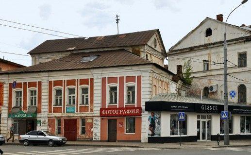 фотография дома Попова в Рыбинске