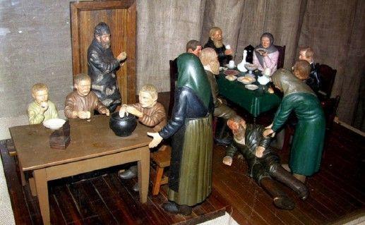 фотография экспозиции краеведческого музея в Кимрах