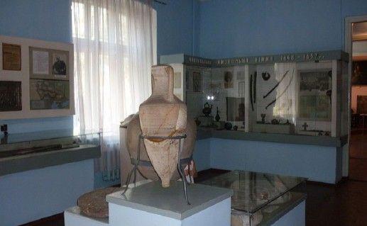 фотография экспозиции уманского краеведческого музея