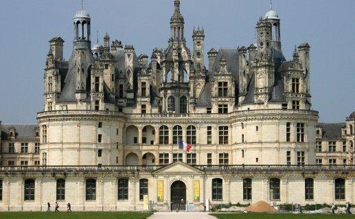 французский замок Шамбор фотография