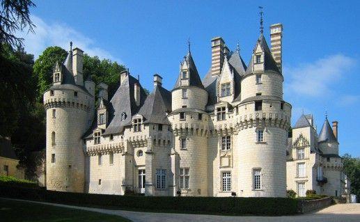 фотография замка Юссе на Луаре