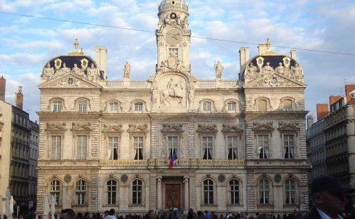 городская ратуша в Лионе фото