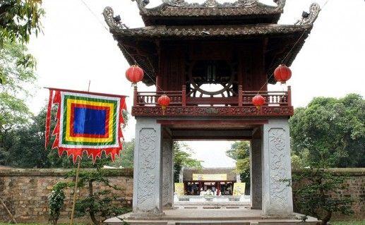 храм литературы в Ханое фото