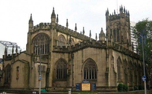 фото кафедрального собора в Манчестере