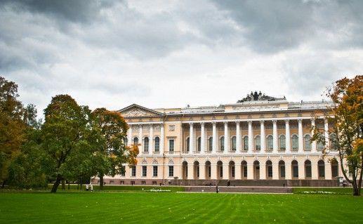 фотография петербургского Михайловского дворца
