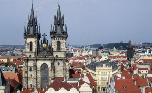 фото Пражского града в Чехии