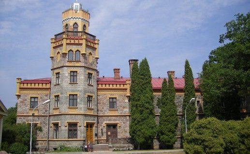 латвийский Сигулдский замок фото