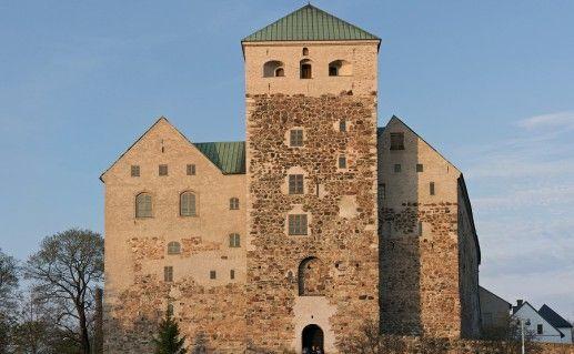 фотография средневекового замка Турку