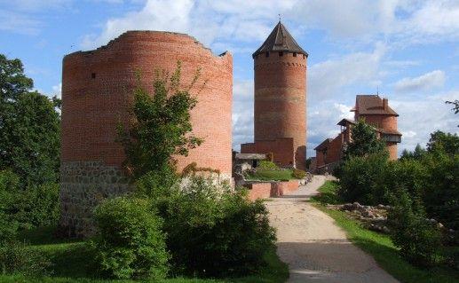 фотография Турайдского замка в Латвии