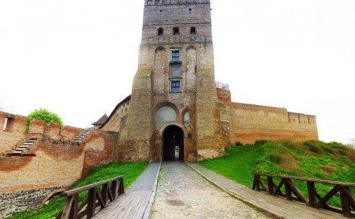 фото украинского Луцкого замка