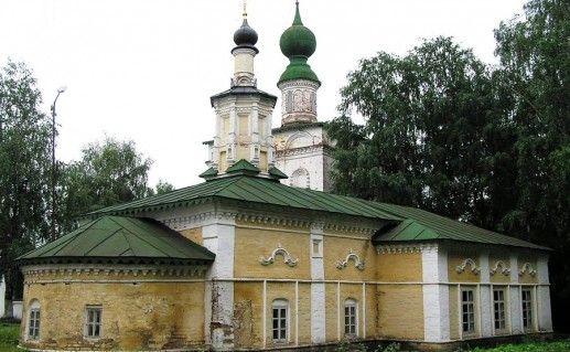 фото Михайло-Архангельского монастыря в Великом Устюге