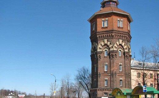 водонапорная башня в Рыбинске фотография