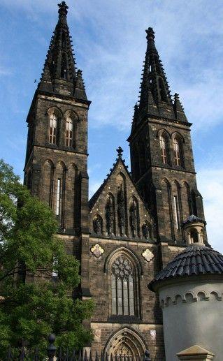 фотография Вышеграда в Праге