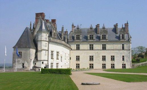 фотография замка Амбуаз во Франции
