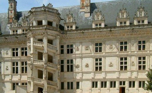 фото замка Блуа на Луаре