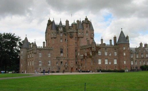 шотландский замок Глэмис фотография