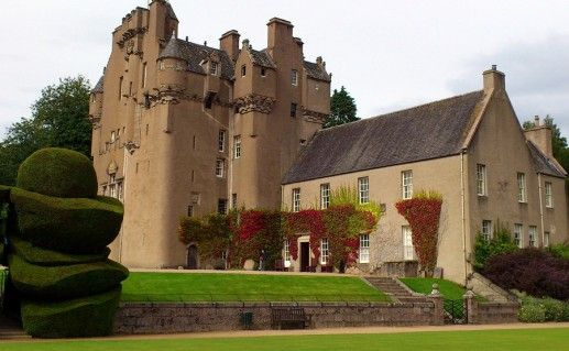 фото замка Крейтс в Шотландии