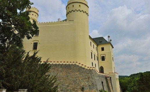 замок Орлик в Чехии фотография