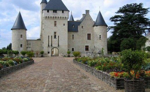 французский замок Риво фотография