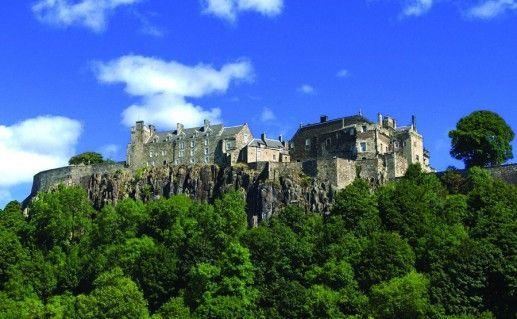 шотландский замок Стерлинг фотография