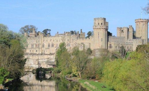 замок Уорвик в Англии фотография