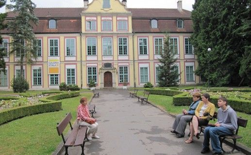 Аббатский дворец в Оливе фото