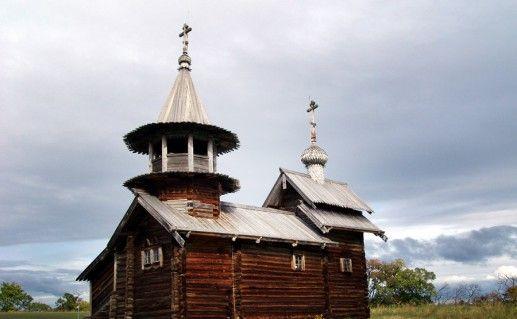 Фотография часовни Михаила Архангела Кижского погоста