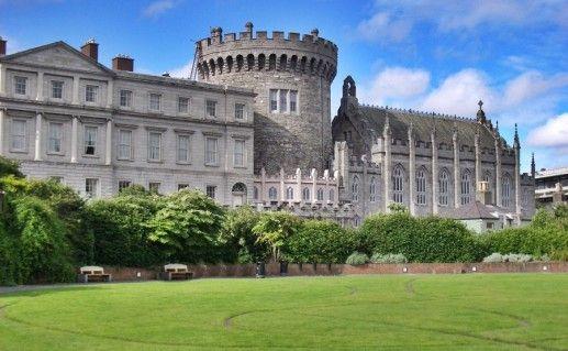 Дублинский замок фотография