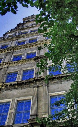 Английский дом Гданьска фотография