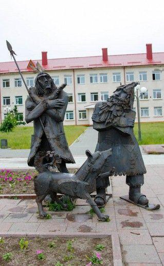 Фотография памятника Робинзону