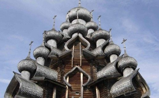 Церковь Преображения Господня Кижского погоста фото