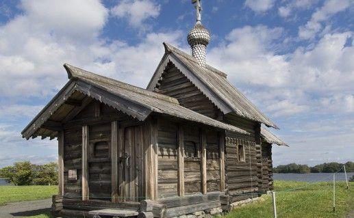 Фото церкви Воскрешения Лазаря на Кижи