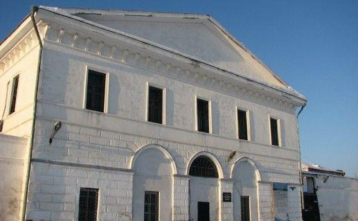 Фотография тюремного замока в Тобольске