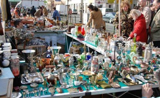 Фото Блошиный рынок (Flohmarkt) в Ганновере