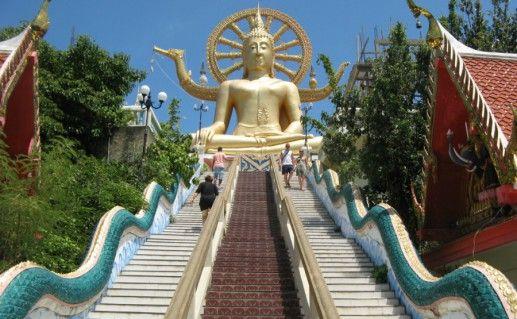 Большой Будда на Самуи фото