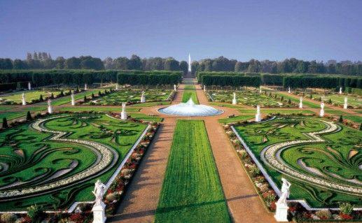 Большой сад в Херренхаузен (Großer Garten Herrenhausen) Ганновер фото