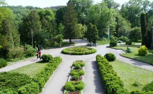 Фото Ботанический сад в Днепропетровске