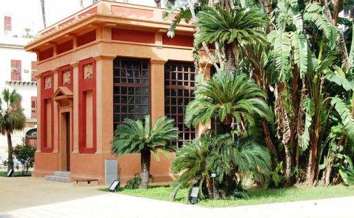 Ботанический сад в Палермо фото