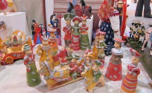 Фотография центр романовской игрушки в Липецкой области