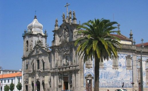 Фото церковь Кармелиташ в Порту