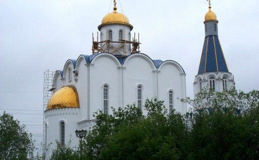 Церковь Спаса-на-водах в Мурманске фото