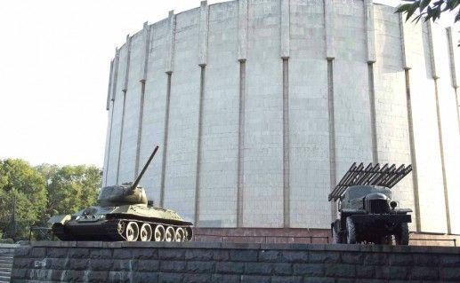 Диорама «Битва за Днепр» фотография