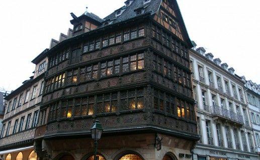 Дом Каммерцеля в Страсбурге фотография