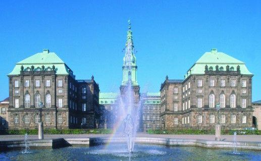 Фотография дворец Христианборг
