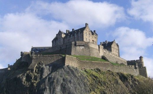 Эдинбургский замок фото
