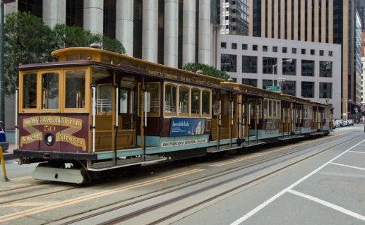 Канатные трамваи Сан Франциско фото