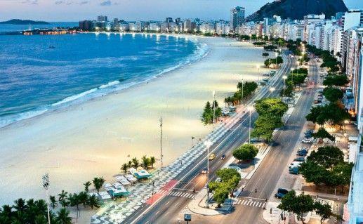 Копакабана в Рио-де-Жанейро фото