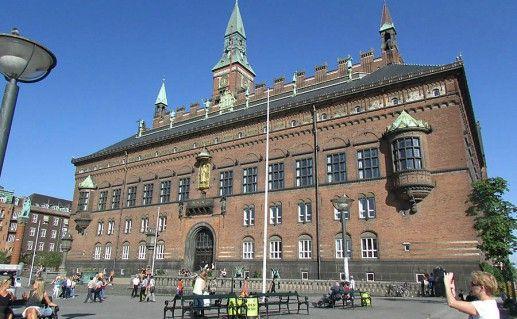 Копенгагенская ратуша фотография