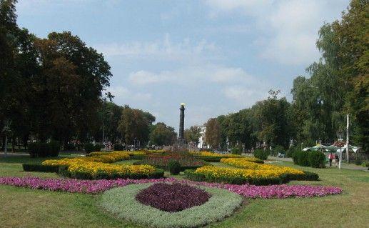 Фото Корпусный сад в Полтаве